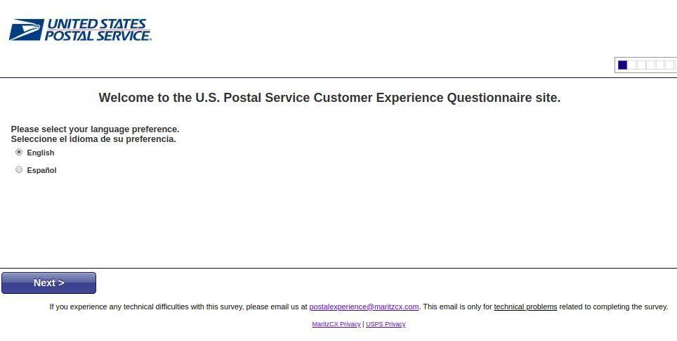 Www.Postalexperience.Com/Pos Homepage