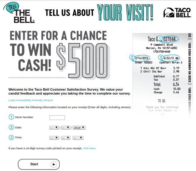 TellTheBell.Com With Store Number